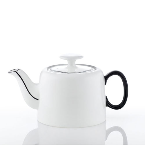 [화이트블룸] Black Edition Slow Morning Teapot