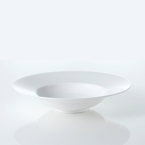 [화이트블룸] Origin White Rim Soup Bowl